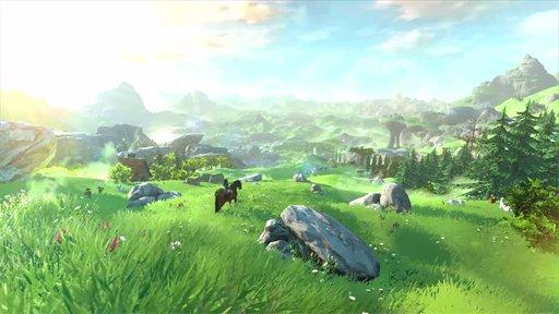 Zelda Breath of the Wild Gameplay